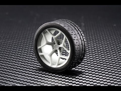 "Plamoz: 2014 Z28 19"" Wheels and Tires Set Unboxing"