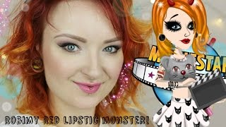 MovieStarPlanet - Robimy Red Lipstick Monster! I Kawaii MSP I