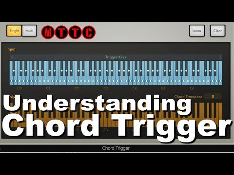 Logic Pro X: How To Use Chord Trigger to Create Minor Chord Progression