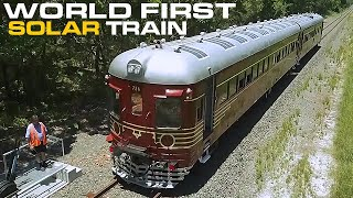 World's First Solar Powered Train - Byron Bay Train thumbnail