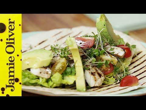 VSauce Chicken Wrap | Jamie Oliver and Michael Stevens