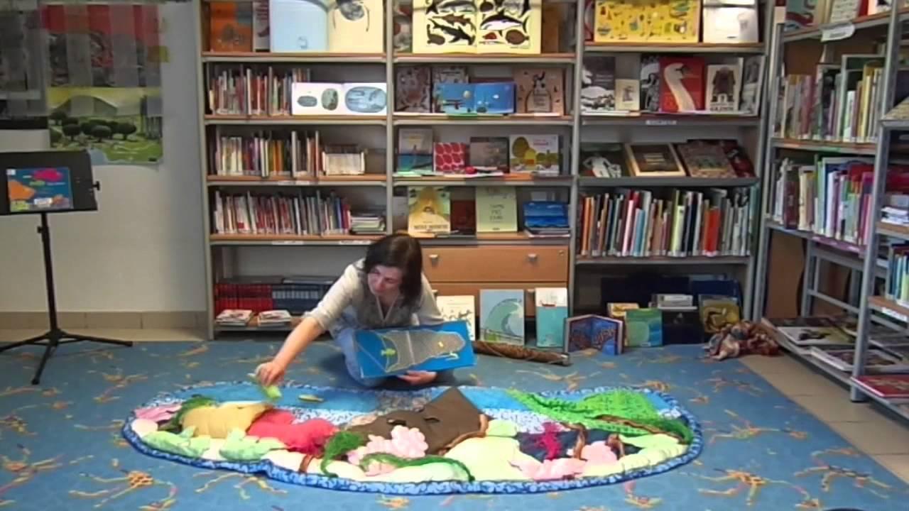 allez raconte le raconte tapis en bibliotheque