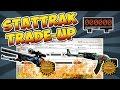 CS:GO - RISKY Falchion StatTrak TradeUp - AWP Hyper Beast vs. AK-47 Aquamarine Revenge