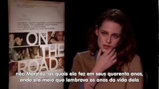 Entrevista de Kristen ao HITFIX falando sobre 'On The Road' (LEGENDADO)
