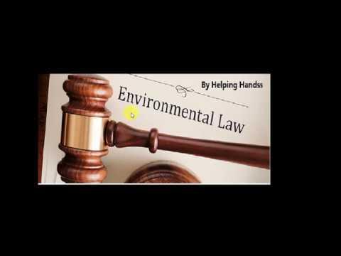 Environmental Acts and Policies (UPSC Prelims and Mains)