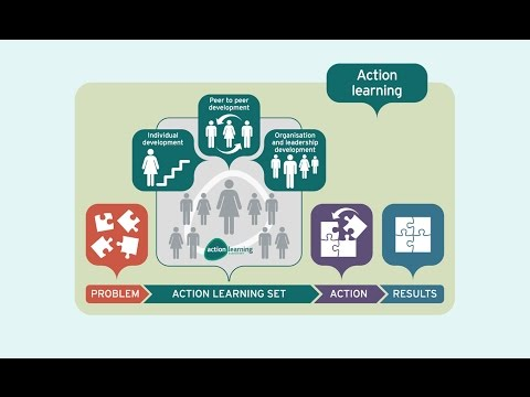 Action learning set run live by Action Learning Associates
