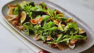 Салат из ветчины и салями с инжиром. Совет шеф-повара. Вкусная Кухня