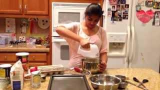 How To Make Oatmeal Chocolate Chip Cookies (en Espanol)
