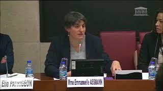 Audition d'Emmanuelle Assmann - Présidente du Comité Paralympique et sportif français