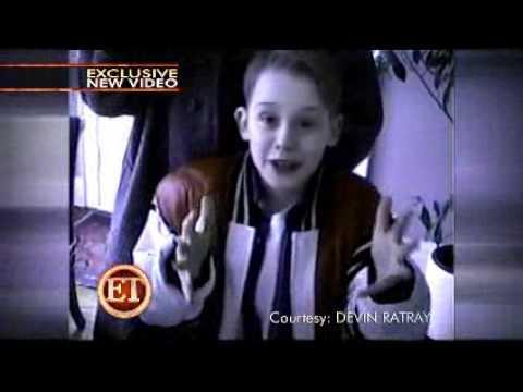 ET Exclusive  Michael Jackson & Macaulay Culkin On The 'Home Alone 2' Set