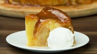 Нереальный вкус из самых простых ингредиентов - яблочный пирог с карамельным соусом! | Appetitno.TV
