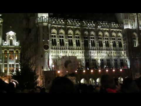 Henri PFR at Christmas in Brussels Grand Place 2017--1 of 4
