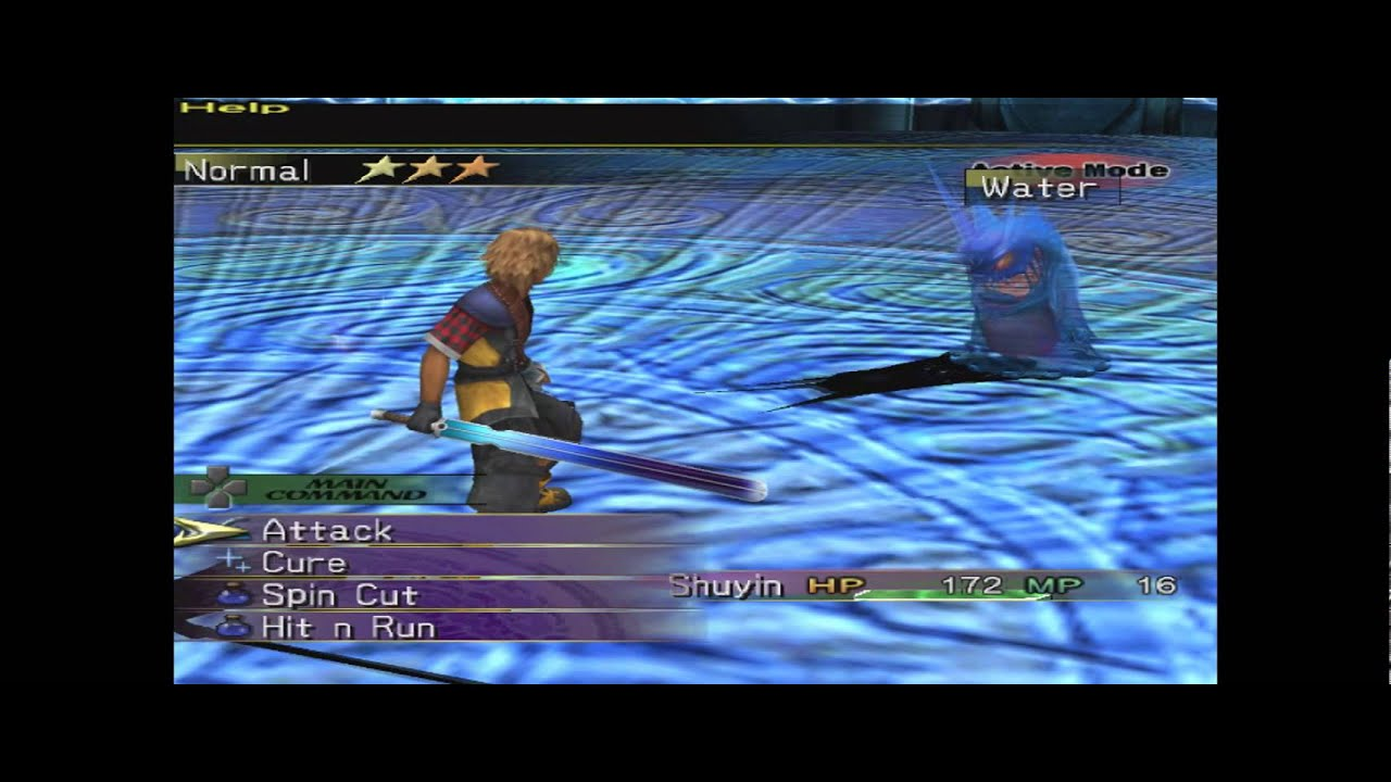 FFX 2 International Last Mission Shuyin Fully Playable With Sword