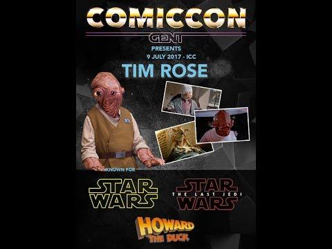 COMICCON GHENT 2017: Tim Rose