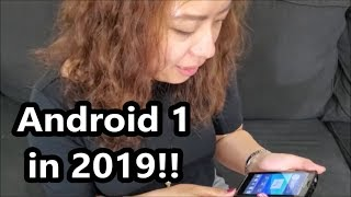 Original Android Unboxing! Sony's First Flagship!
