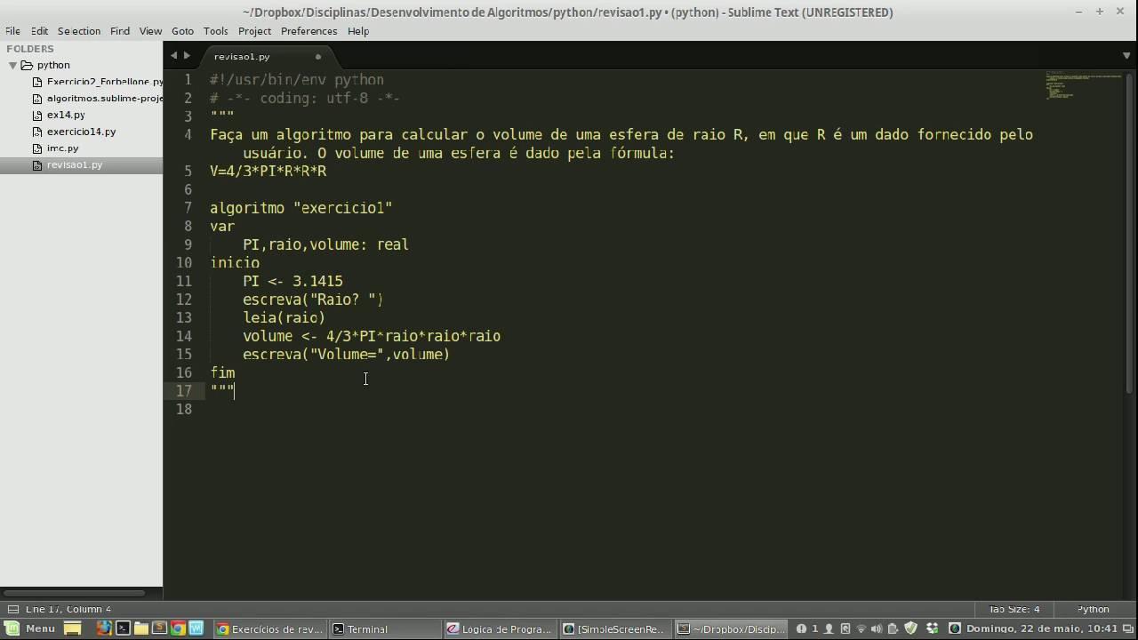 Resolvendo um algoritmo e convertendo para python 1 youtube resolvendo um algoritmo e convertendo para python 1 ccuart Image collections