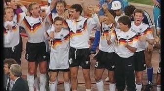 [HQ] - Gianna Nannini & Edoardo Bennato - Un' estate Italiana - Weltmeister Deutschland 1990