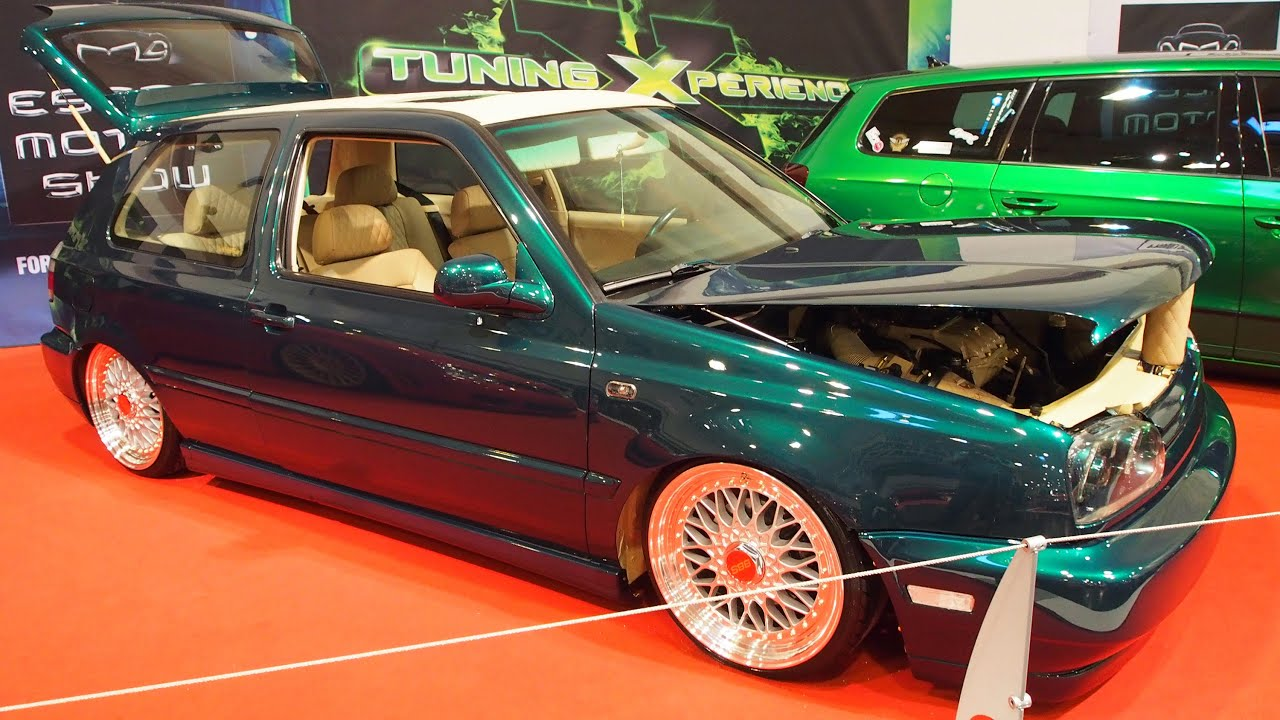 volkswagen golf 3 tazrider tuning at essen motorshow. Black Bedroom Furniture Sets. Home Design Ideas