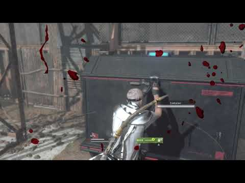 Metal Gear Survive - Oxygen Supply Camp Unit and Tactical Hood Recipe Locations