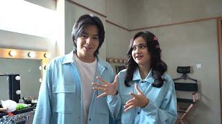 Keseruan SYIFA HADJU & ANGGA YUNANDA di pembuatan video 'Cinta Hebat' - (PART 1)