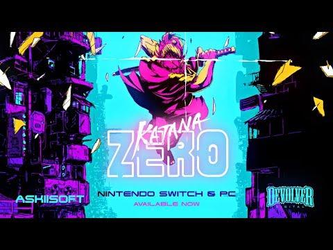 Katana ZERO - Launch Trailer