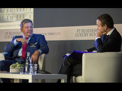 FT Business of Luxury Summit 2015 - Johann Rupert