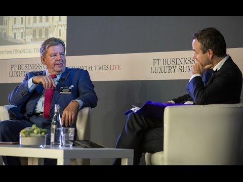 FT Business of Luxury Summit 2015 - Johann Rupert