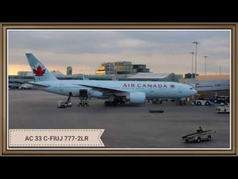 Photos Only - Long Pacific Night -  Air Canada (AC 33) - Toronto To Sydney