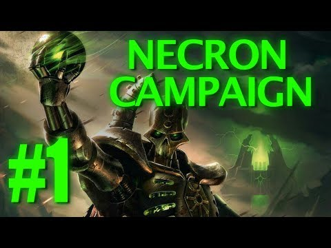 Dawn of War: Dark Crusade - Necron Campaign #1