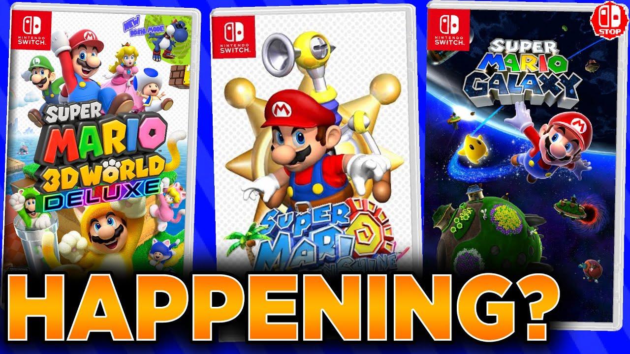 Are The Super Mario 3D REMASTERS Still Happening? (3D World, Galaxy, Sunshine, Etc.)