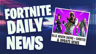 LEAKED SKINS, EMOTES & FREE BATTLE PASS ?! - Fortnite Daily News (17 Juli 2019)