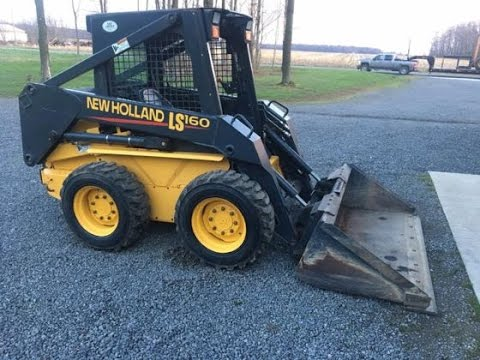 2003 New Holland LS160 Skid Steer with 501 Hours Sold for Record Auction New Holland L Wiring Diagram on