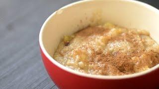 Apple Pie Oatmeal - Quick & Easy Breakfast Recipe