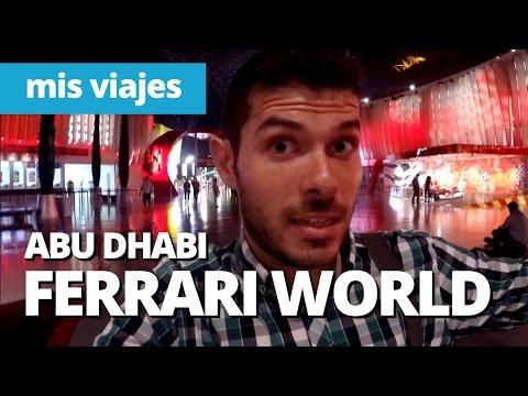 La montaña rusa más rápida del mundo | FERRARI WORLD, Abu Dhabi