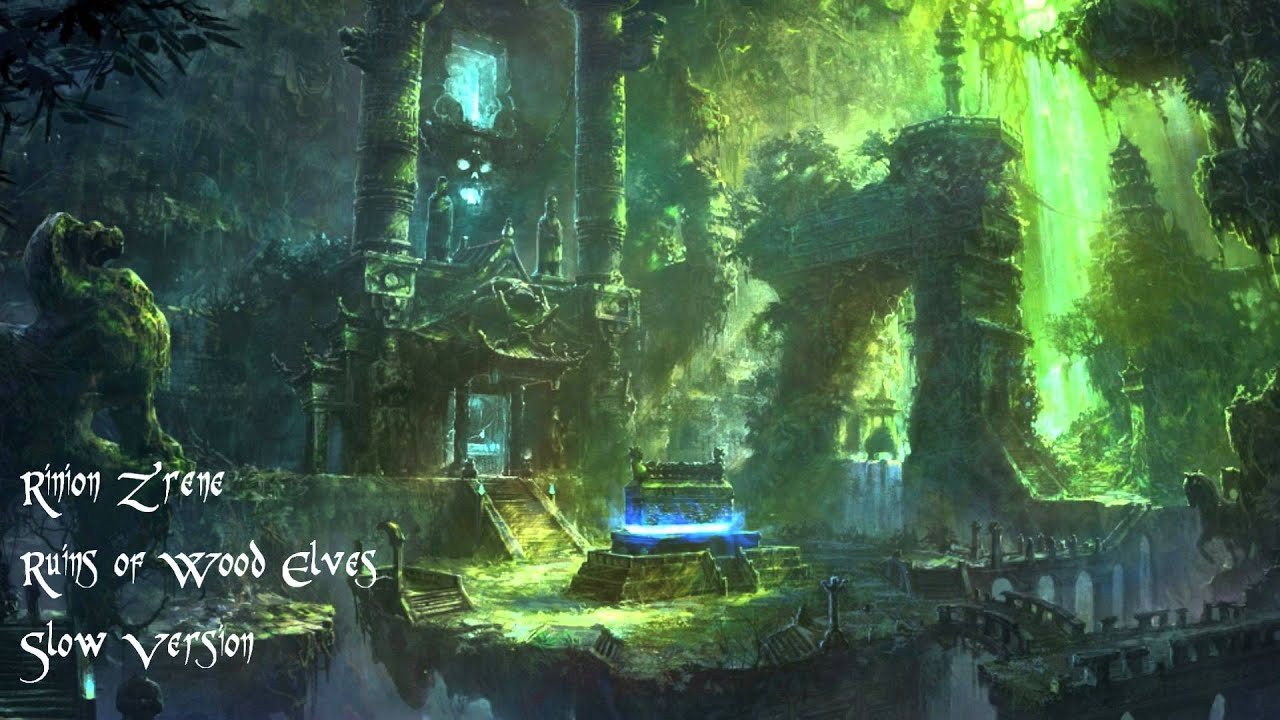 World Of Warcraft Wallpapers Hd Forest Music Ruins Of The Wood Elves Slow Version Youtube