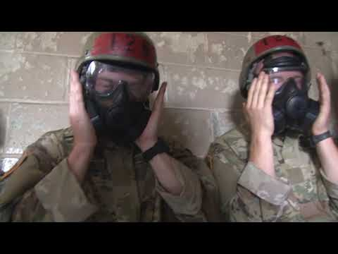 Fort Benning Recruits Take On The Gas Chamber