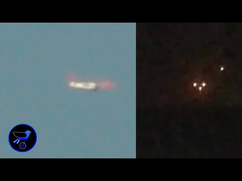 A clear UFO spotted in the sky over Poland! Aug 7,2019