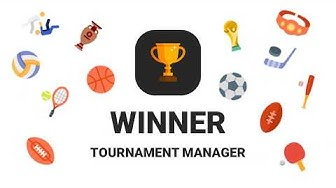 🏆 Winner 🏆- Tournament Maker app & League Manager