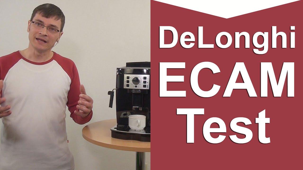 delonghi ecam 22110b kaffeevollautomat test youtube. Black Bedroom Furniture Sets. Home Design Ideas