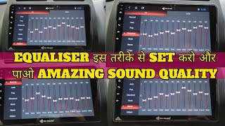Car Android Stereo Top Equaliser Settings    Android Music System Sound Settings screenshot 2
