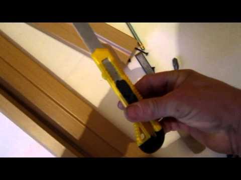 Как установить порог межкомнатной двери видео