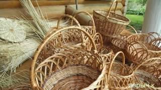видео Плетение изделий из лозы