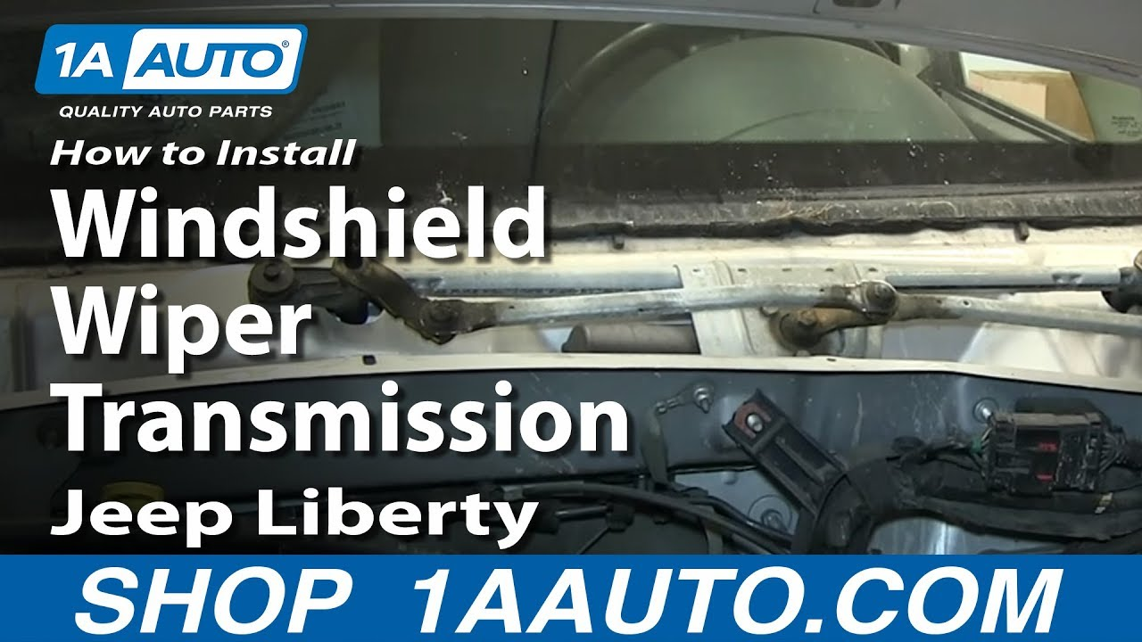 How To Install Replace Windshield Wiper Transmission 2002 07 Jeep 2011 Patriot Fuel Filter Liberty