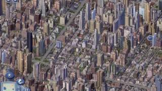 Sim City 4 BIG CITY 1.6 million people