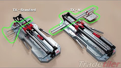 Difference Between Rubi's TX Tile Cutters - Tradetiler