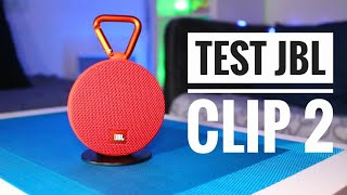 TEST de l'enceinte JBL Clip 2 - High Tech