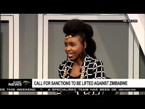 Call for sanctions to be lifted against Zimbabwe