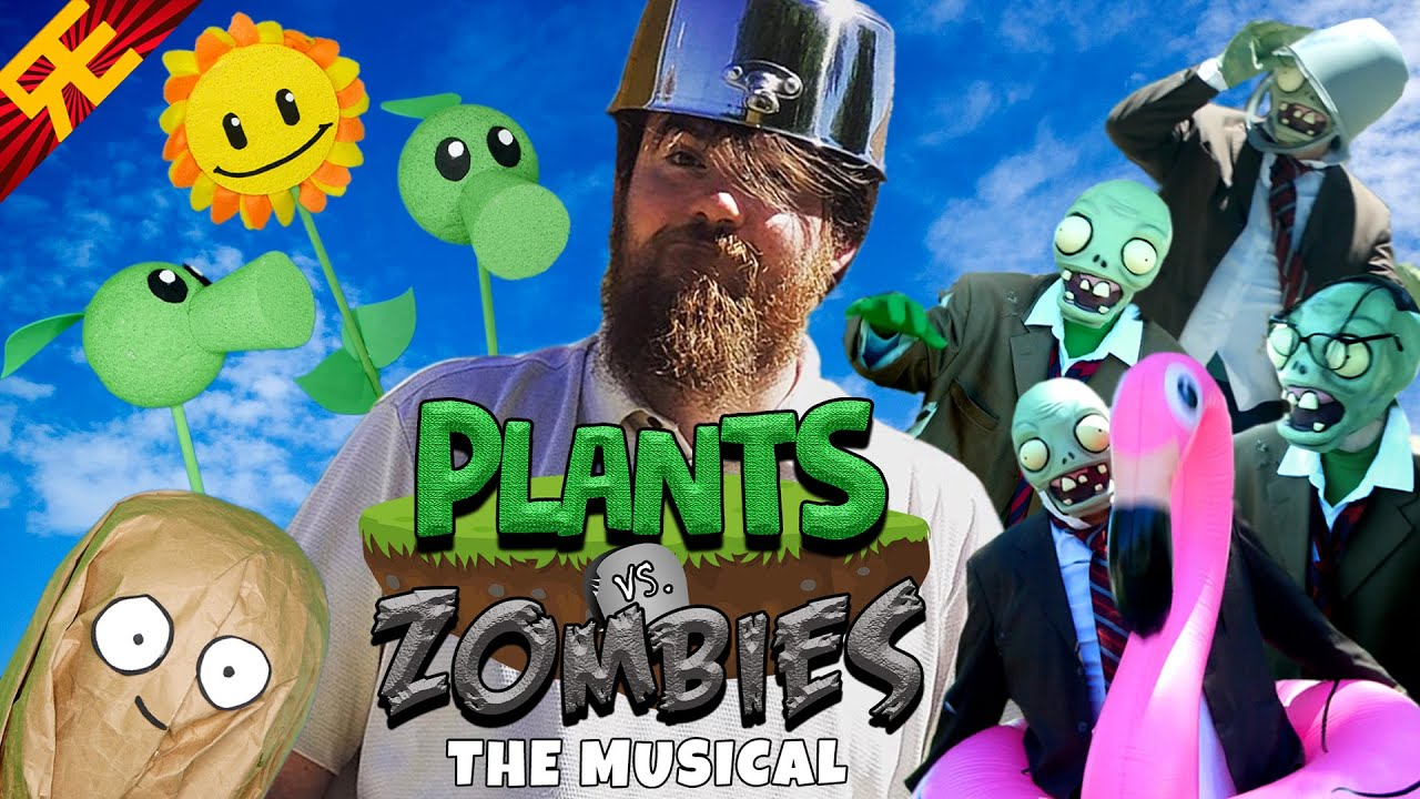 Download PLANTS vs. ZOMBIES: THE MUSICAL [by Random Encounters]
