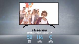 Hisense 50H4C H4 series full HD Roku TV // Full Specs Review  #Hisense