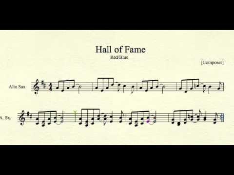 Hall of Fame for Alto Sax
